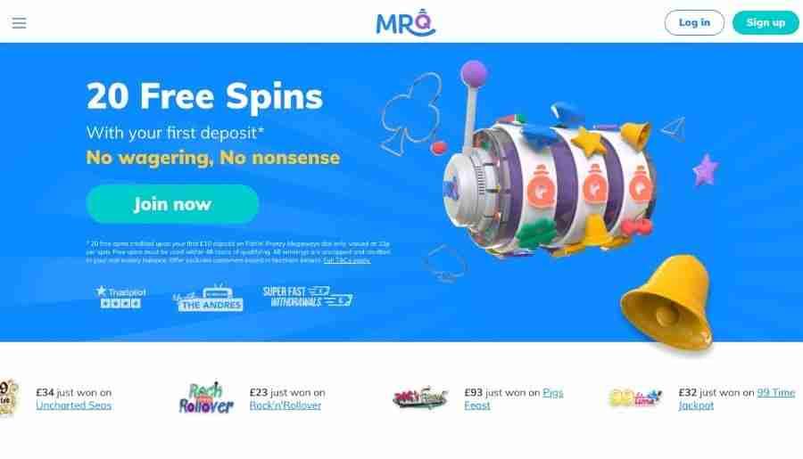 mrq casino - homepage