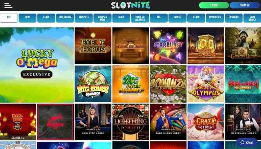slotnite casino - games