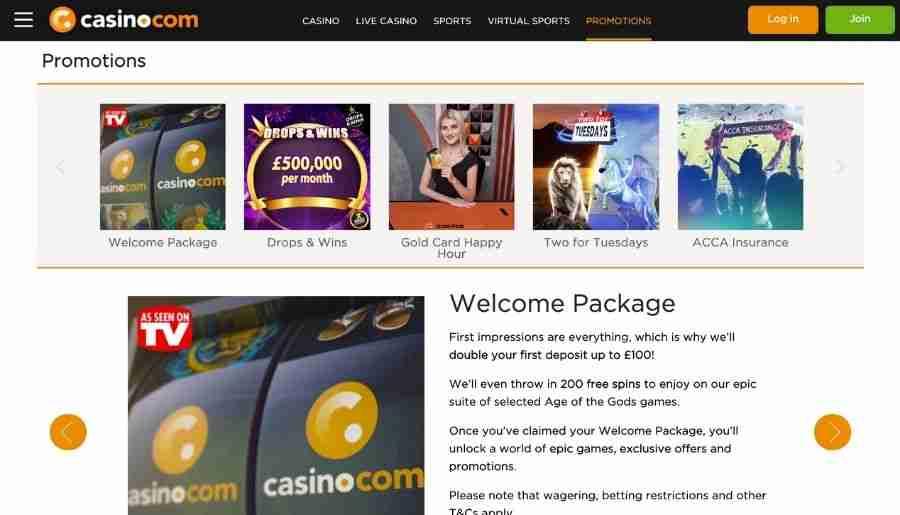casino-com casino - bonuses