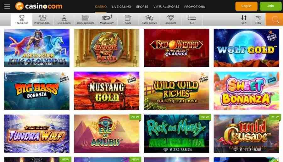 casino-com casino - games