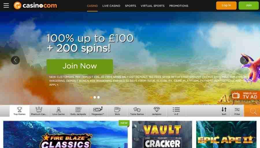 casino-com casino - homepage