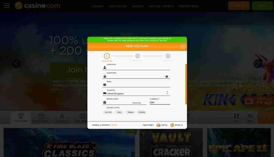 casino-com casino - registration