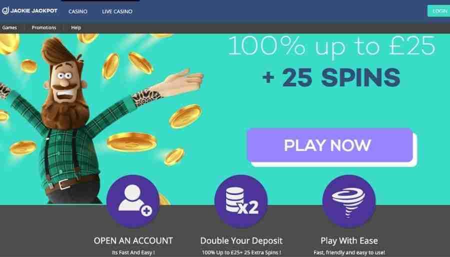 jackie jackpot casino - bonuses