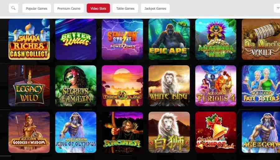 mansionbet casino - games